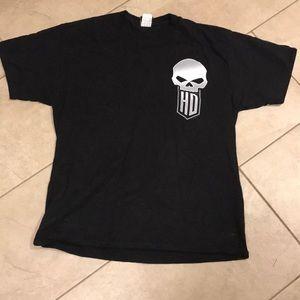 Men's Harley Davidson black t-shirt